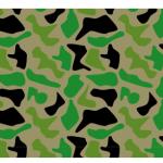 継ぎ目なく柄、パターンを作って簡単な迷彩柄をパターンにしてみる
